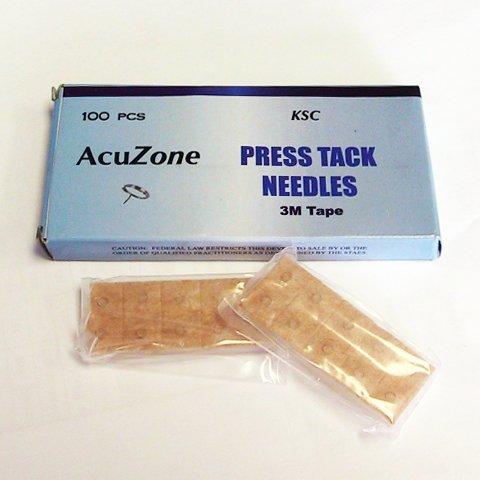 Acuzone Press Tack Needles (100pcs per box), Health Care Stuffs