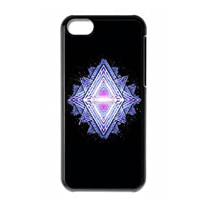 Fractal Revisited iPhone 5c Cell Phone Case Black MHG7039644