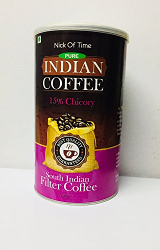 Nick of Time Chicory Blend South Indian Filter Coffee 85-15 - South Indian Filter Coffee