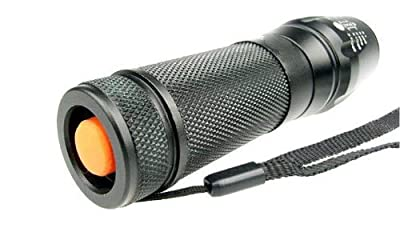 LanLan 1000 Lumens Zoomable T6 LED 26650 18650 4x AAA Zoom Flashlight Torch Lamp + 3000mAh Rechargeable battery+ Charger
