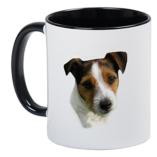 CafePress Jack Russell Watercolor Mug Unique Coffee Mug, Coffee Cup
