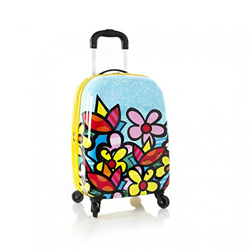 Heys America Unisex Britto Tween Spinner Flowers Luggage