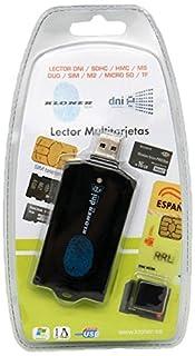 Kloner KDLT0085 - Lector de tarjetas, DNI-electrónico, tarjetas criptográficas y tarjetas SIM