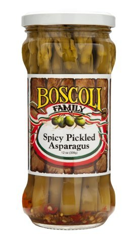 Boscoli Asparagus Spicy Pickled, 12 oz (Asparagus Pickled)