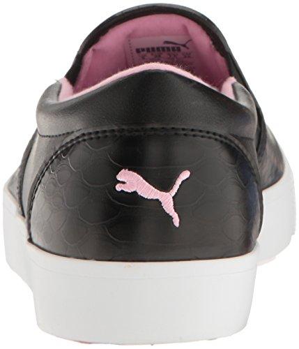 Puma Damesslippers Voor Dames Tustin Zwart Puma-roze