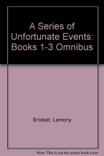 Book cover for A Series of Unfortunate Events