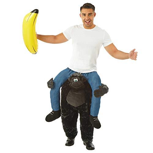 fun shack Men's Me Up, Gorilla Lift Me Up One Size ()