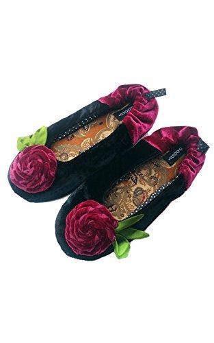 Nouveau Goody Goody Bon Bon Confortable Chaussons En Soie Rosita