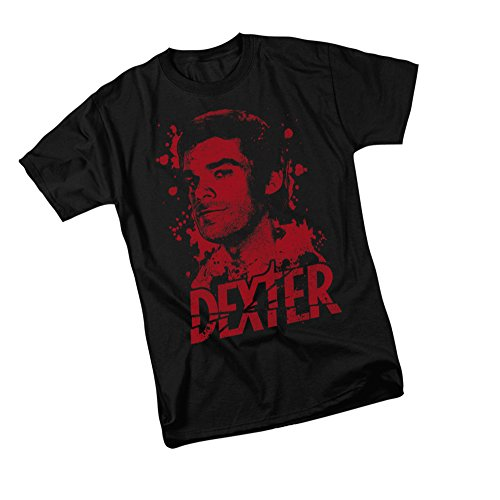 Dexter Dark T-shirt - Born In Blood -- Dexter Adult T-Shirt, Large
