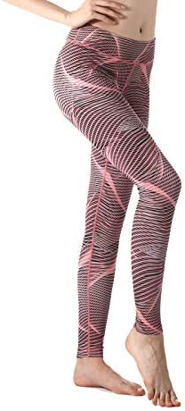 ZOANO High Waisted Printed Yoga Pants for Women Workout Leggings Running Pants 2