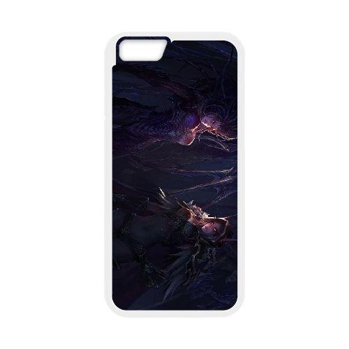 Sylvanas Windrunner coque iPhone 6 4.7 Inch cellulaire cas coque de téléphone cas blanche couverture de téléphone portable EEECBCAAN08532