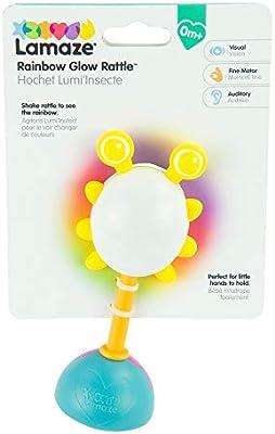 Amazon.com: Lamaze Rainbow Glow Sonajero: Baby