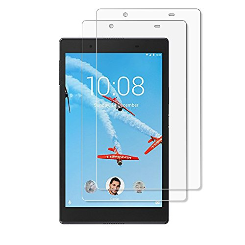 Gzerma for Lenovo Tab 4 8 Screen Protector, [High Definition HD Clear] [Touch Accuracy] [Easy Installation] Face Protective Cover Film for Lenovo Tab4 8 8.0 Inch Tablet, (2 Pack)