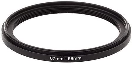 Bower Step-Down Adapter Ring 67mm Lens to 58mm Filter Size