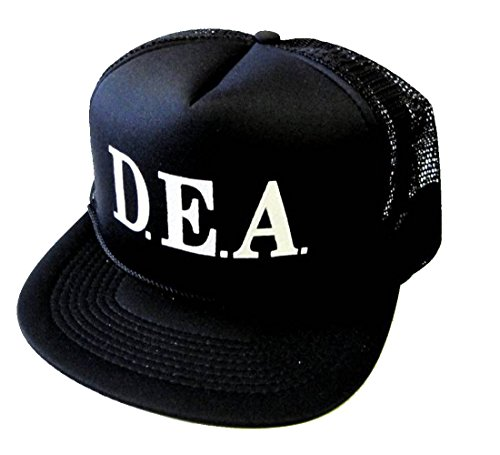 D.E.A. Drug Agency Halloween Costume Mesh Trucker Hat Cap Snapback -