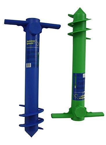 Seasonal Industries, Inc. – Plastic Beach Umbrella Anchor – 1 Unit (Color: colors may vary)