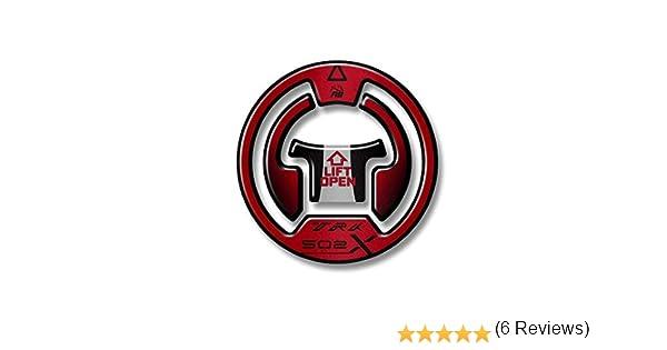 Black Red M PROTECCI/ÓN DE Tapa DE Combustible TRK 502 X GP-578