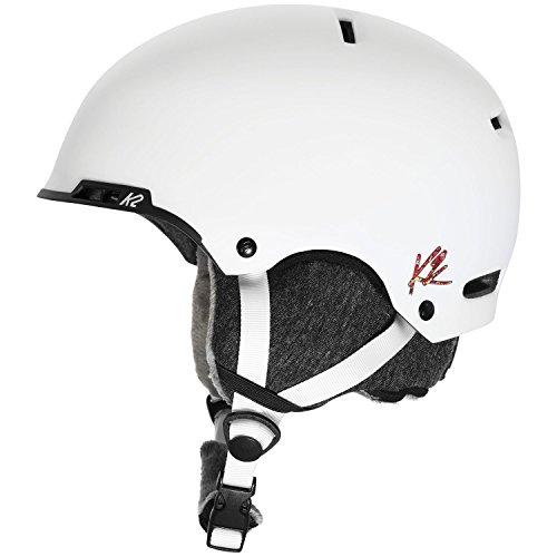 K2 2015/16 Women's Meridian Ski Helmet - S1508009 (White - S)