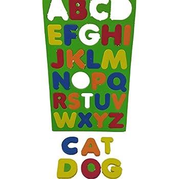 FOAM Magnetic Letters 26 Piece With Alphabet Symbols Preschool Educational Toy