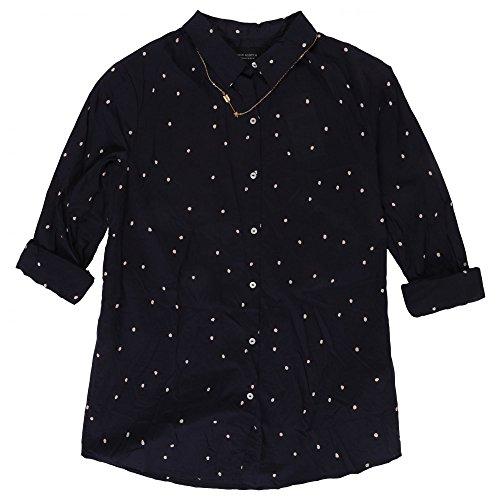 Maison Scotch Lightweight Shirt with Print Combo A