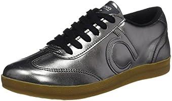 DUUO Mood, Zapatillas para Mujer, Plateado (Silver), 38 EU