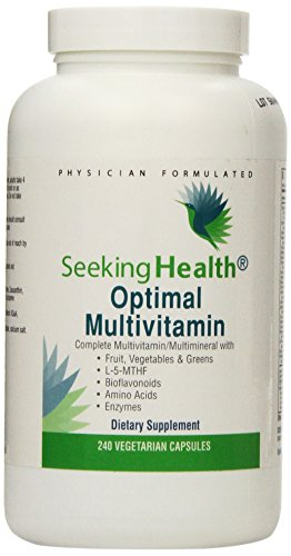 Multivitamin Vegetables Bioflavonoids Seeking Health