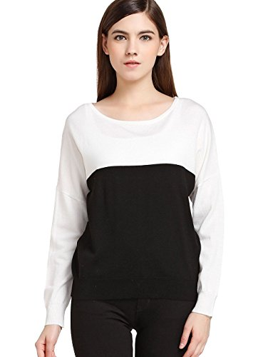 FOURTYFOUR Women's Loose Short Sweater XXXX-Large White by FOURTYFOUR