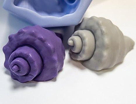 Inception Pro Infinite Molde de Silicona para Concha de mar Hecha a Mano - también es Adecuado para el jabón: Amazon.es: Hogar