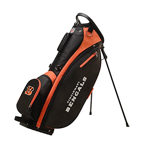 Wilson 2018 NFL Carry Golf Bag, Cincinnati Bengals ()