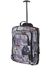 5 Cities Cabin Trolley bagaglio 55x40x20cm mano destra, 42 litri
