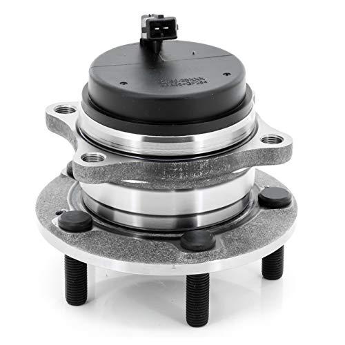 All Wheel Drive Cars 2007 - [1-Pack] 512326 REAR Wheel Hub and Bearing Assembly for 2007-2018 Hyundai Santa FE [FWD Models], 2007-2012 Hyundai Veracruz [FWD Models], 2011-2015 KIA Sorento [FWD Models]