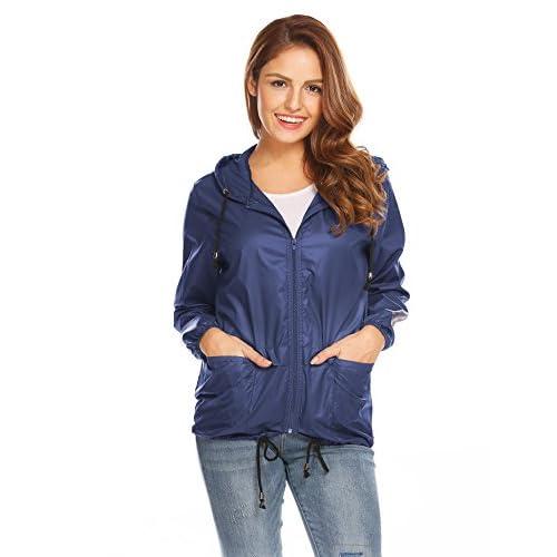84b3945dc60ab high-quality Meaneor Damen Blouson Jacke Marineblau rl0Wh2PO - www ...