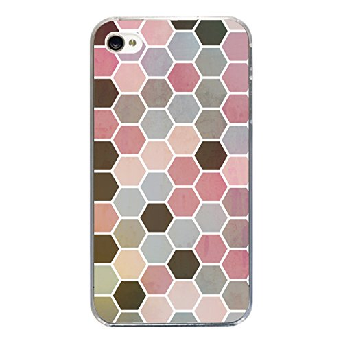 """Disagu SF-sdi-3814_1204#zub_cc2455 Design Schutzhülle für Apple iPhone 4 - Motiv """"Polygone 01"""""""