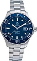 TAG Heuer Men's Aquaracer Stainless Steel Watch (WAN2111.BA0822) by TAG Heuer