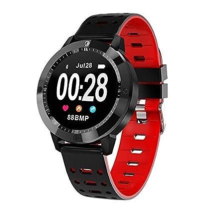 ZGYYDY Reloj Inteligente Ip67 Resistente al Agua Actividad de Vidrio Templado Rastreador de presión Arterial Monitor