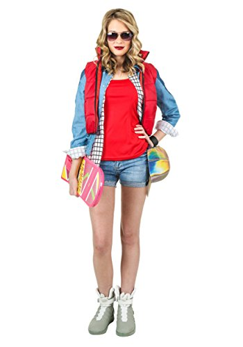 [Fun Costumes womens Women's Marty McFly Costume Medium] (Marty Mcfly Costumes)