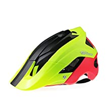Bicycle Helmet Ultralight Integrally Molded EPS Bike Helmet Safety Helmet Specialized for Road/ Mountain Terrain Bicycle with Comfortable Removable Washable Antibacterial Pads