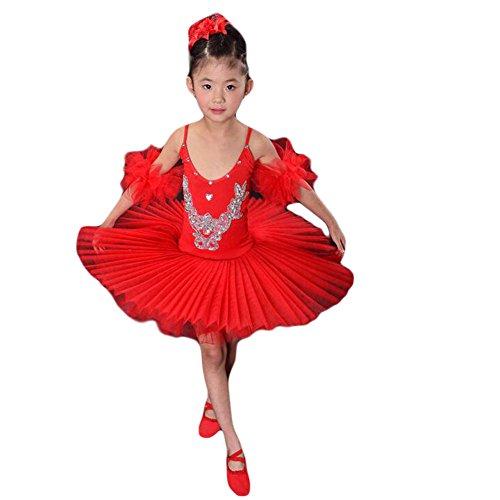 Toddler&kid Sling Ballet Skirt/Swan Lake Costumes/Ballet Dress (Swan Ballet Costume)