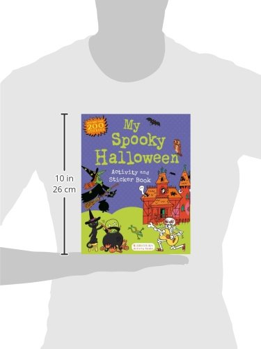 Math Worksheets halloween math worksheets grade 3 : My Spooky Halloween Activity and Sticker Book (Sticker Activity ...