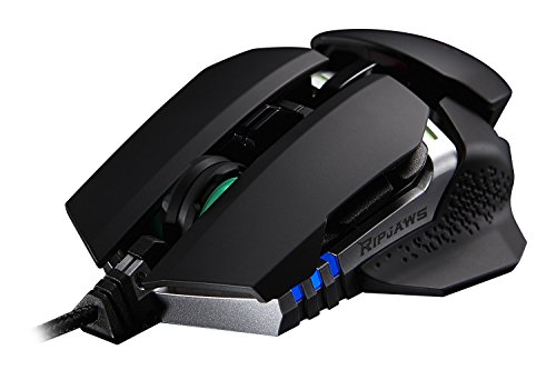 G.SKILL RIPJAWS MX780 Cutting Edge Ambidextrous RGB 8200 DPI Laser Gaming Mouse with Adjustable Grips, Height, and Weights