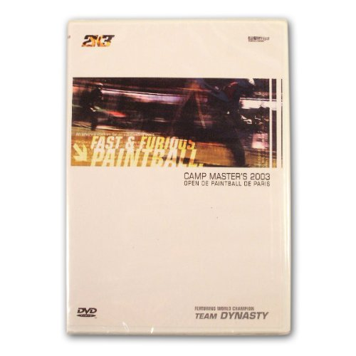 720 Video Camp Masters Paris France Open tournament 2004 Paintball DVD nppl psp