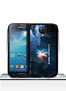 Samsung Galaxy S4 Mini Funda Case, Counter-Strike Logo Game Dust Proof Colorful Paint Impact Resistant Simple Pattern Shell Protective Funda Case