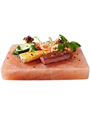"Himalayan Chef Plate Holder for 8"" X 12"" X 2"" Salt Cooking Plate, Salt Slab Plate, 506g"