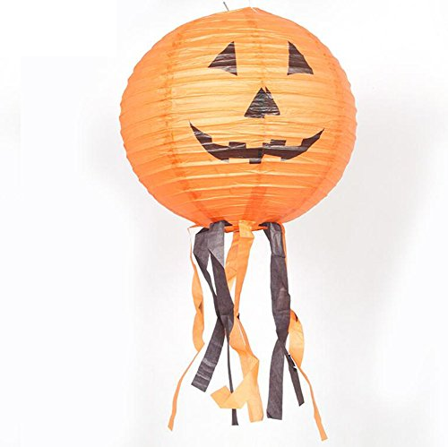 Halloween decorations/Site items layout/ pumpkin paper Lantern-A -