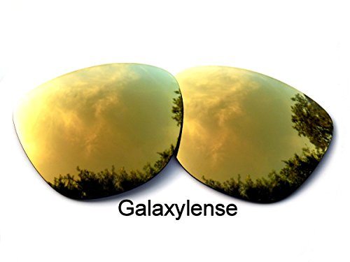 Galaxy Replacement Lenses for Oakley Frogskins 24K Gold Color Polarized,100% - Lens Oakley Frogskins