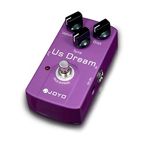 JOYO JF-34 US Dream Guitar Distortion Effects Pedal Single Effect Music Instrument Guitar Gear in USA