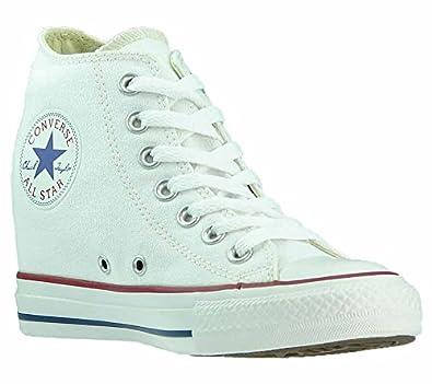 Converse Chucks Sneaker weiß Damen Keilabsatz Chuck Taylor Hi ...