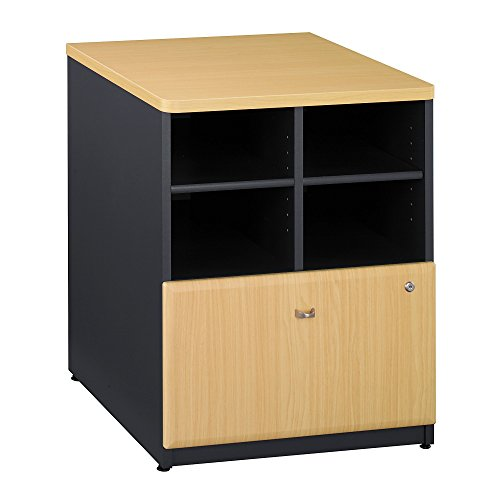 Bush Business Furniture Series A Collection 24W Piler Filer in - Collection Bush Beech
