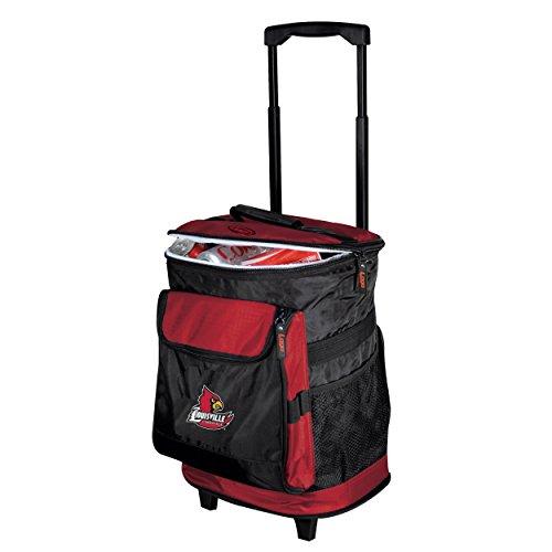 Ncaa Rolling Backpack - Logo Brands 161-57 NCAA  Louisville Cardinals Rolling Cooler