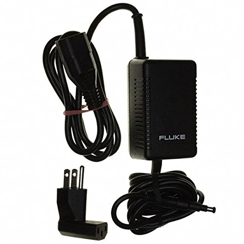 Fluke PM8907/808 Line Voltage Adapter/Battery Charger, Universal Switchable Adapter with Plug